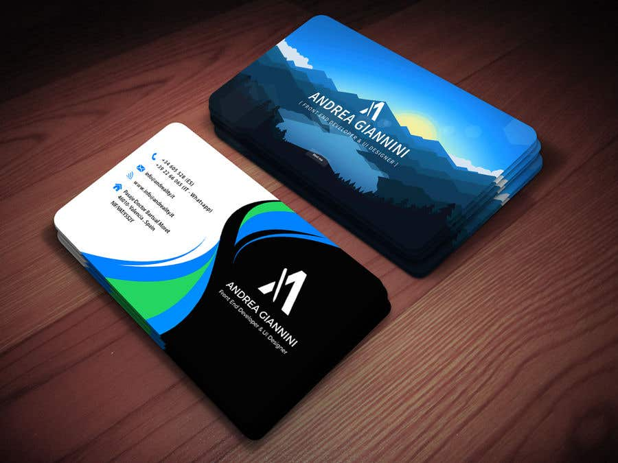 Contest Entry #139 for Andreality business cards