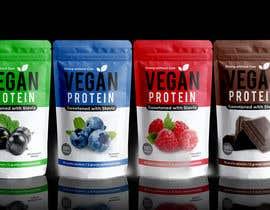 Nro 367 kilpailuun Design a Bag for Vegan Protein käyttäjältä ata786ur