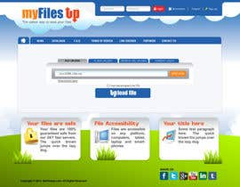 #9 for Website Design for Upload Files website by gl3nnx