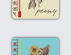#4 for Design a porcelain enamel thermometer af cutterman