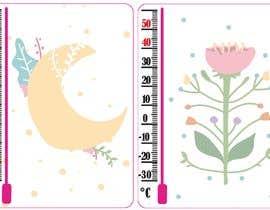 #10 for Design a porcelain enamel thermometer af gabysklona