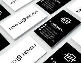 "#598 cho Modern business card design ""TOKYO SEVEN"" bởi robinhosen376017"