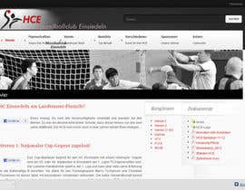 #17 для Logo integration into existing html template for a local sports club (handball) от edselfiles