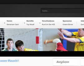 #10 för Logo integration into existing html template for a local sports club (handball) av Vmuscurel