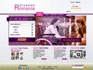 Graphic Design Inscrição do Concurso Nº29 para Website Design for Dating website homepage