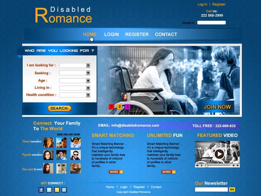 Inscrição nº                                         33                                      do Concurso para                                         Website Design for Dating website homepage