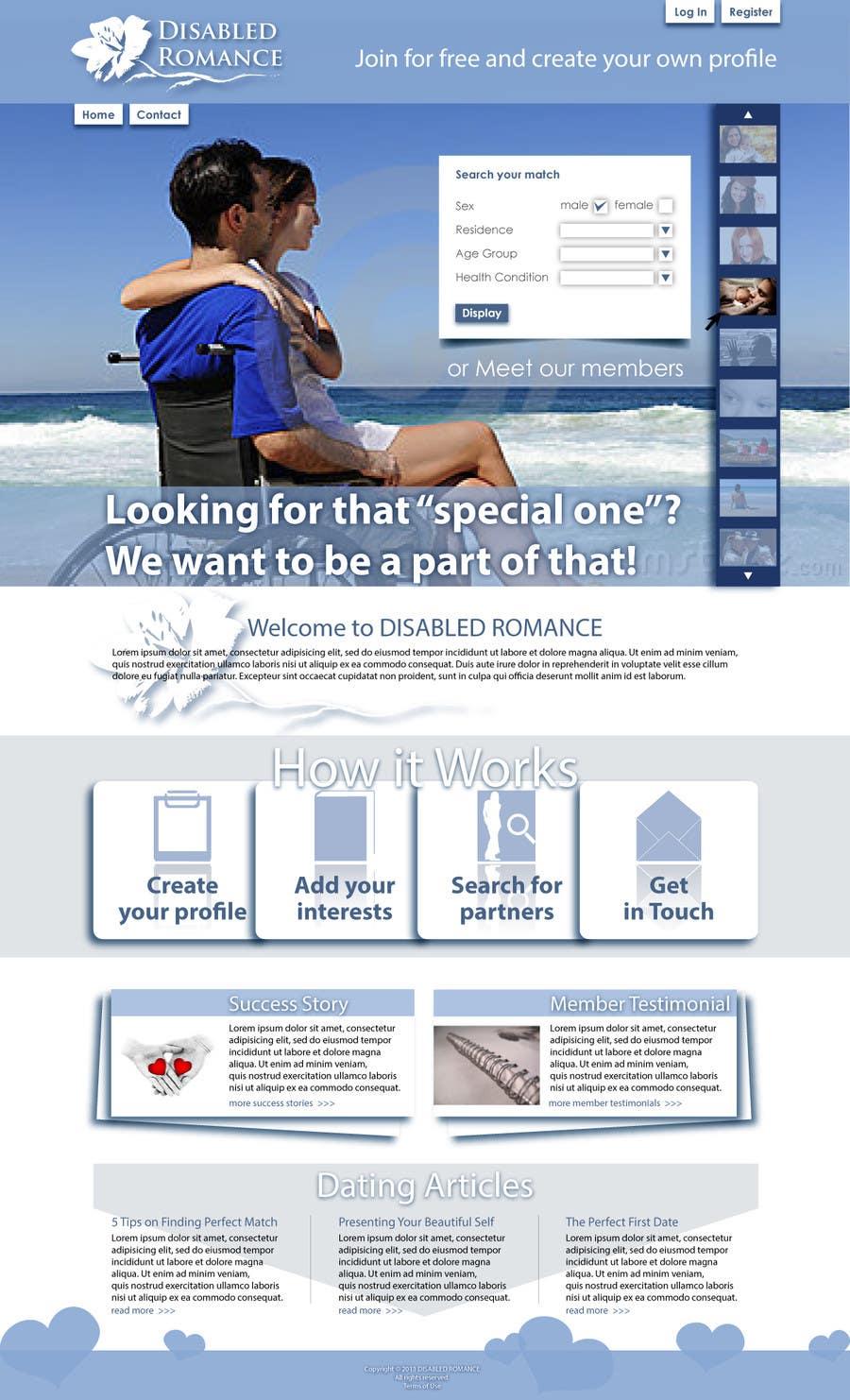 Inscrição nº                                         24                                      do Concurso para                                         Website Design for Dating website homepage