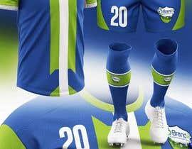 Nro 8 kilpailuun Design me a soccer jersey käyttäjältä allejq99