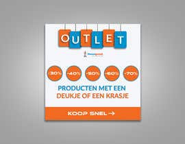 #85 for outlet banner by SEFAT10