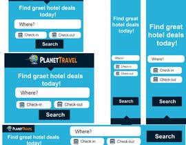#29 for Hotel search banner ads (7 banners) by mrhamza034