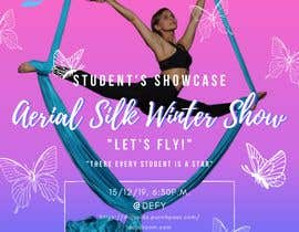 "nº 13 pour Create a poster for event ""Aerial Silk Show"" par claudelune"