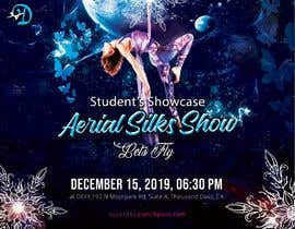 "nº 32 pour Create a poster for event ""Aerial Silk Show"" par nabeel1vw"
