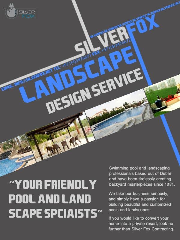 Konkurrenceindlæg #16 for Advertisement Design for Landscaping Service
