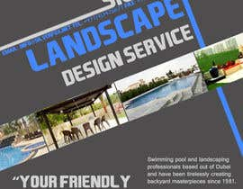 #16 para Advertisement Design for Landscaping Service por kittikann