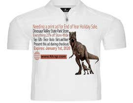 #17 cho Ad for Christmas Sale - Dinosaur Store bởi Monir123454