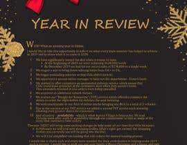 #47 для Edit and re-design professional christmas letter от HassanManazir