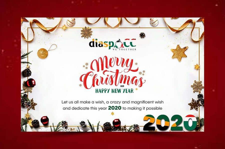 Конкурсная заявка №53 для Merry Christmas & Happy New Year 2020