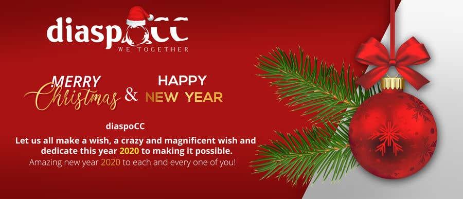 Конкурсная заявка №45 для Merry Christmas & Happy New Year 2020