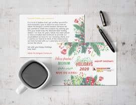 #66 för Redesigning Holiday Postcard av AraBoncay