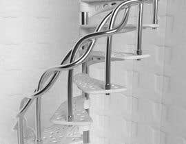 #5 para Worlds Coolest 3D Printed Step/Stair (for spiral staircase) Contest por Cobot