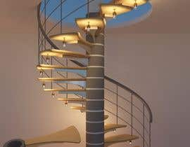 #40 para Worlds Coolest 3D Printed Step/Stair (for spiral staircase) Contest por rashid78614