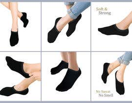 #22 pentru Photo Shop Sock images on to models for ecomerce website de către saifulalam1704