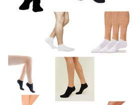 #34 pentru Photo Shop Sock images on to models for ecomerce website de către ezo2016