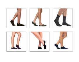 #43 pentru Photo Shop Sock images on to models for ecomerce website de către aks2oyd6s