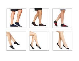 #45 pentru Photo Shop Sock images on to models for ecomerce website de către aks2oyd6s