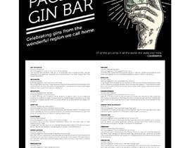 #7 for GIN BAR POSTER by eling88