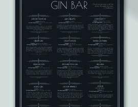 #50 for GIN BAR POSTER af ozgeyalniz