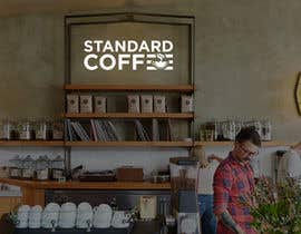 Tamal28 tarafından Coffee shop logo design 1- Preferably, it should be related  to the name 2- It is simple and attractive 3- He should be attractive in colors such as red, black and white Cafe name (standard coffee) için no 631