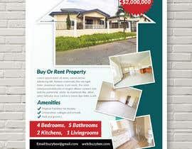 #7 for Real Estate For Sale Flyer af mindlogicsmdu