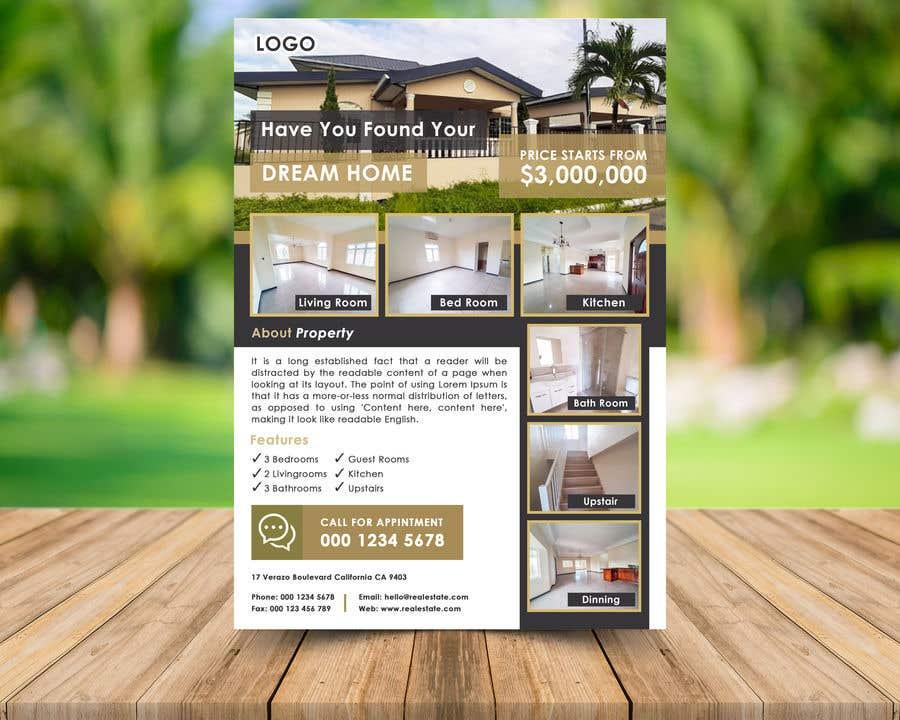 Konkurrenceindlæg #12 for Real Estate For Sale Flyer