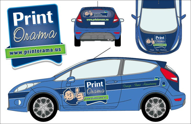 Inscrição nº 146 do Concurso para Graphic Design for Vehicle wrap and Logo