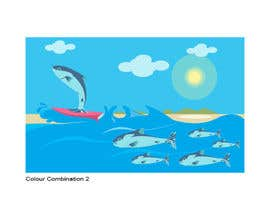 #32 para Cartoon for Salmon Swimming Upstream por YogNel