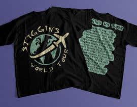 #48 untuk Stiggins World Tour tee Shirt design oleh mdyounus19