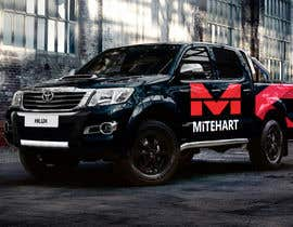 Nro 3 kilpailuun Toyota Hilux Invincible X Vehicle Wrap käyttäjältä soashkani