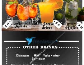 #31 для Build me an attractive stand out Cocktail Menu featuring 3 Cocktails and other drinks as well от Ammara12gulzar