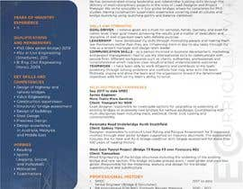 rochimbgr tarafından Professional CV Design (Resume) için no 18