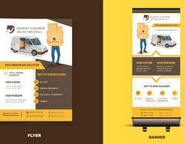 #44 для Flyer and banner design for a delivery company от lunaticscreative