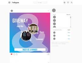 #7 for Create a giveaway template for instgram by marufgdh
