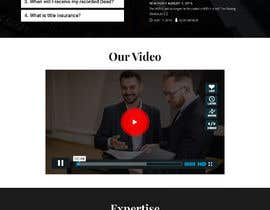 #9 для Build a dreamweaver website parallax template home page and a sub page от saidesigner87