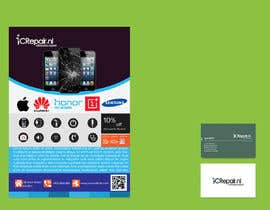 PingkuPK tarafından Design a Flyer & business card için no 119