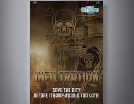 Nro 35 kilpailuun Create our new Escape Game Poster! käyttäjältä GraphicsTeamBD