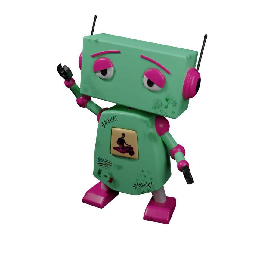 Kilpailutyö #54 kilpailussa 3D Robot Design / Logo