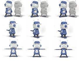 #57 for 3D Robot Design / Logo af cihanbige