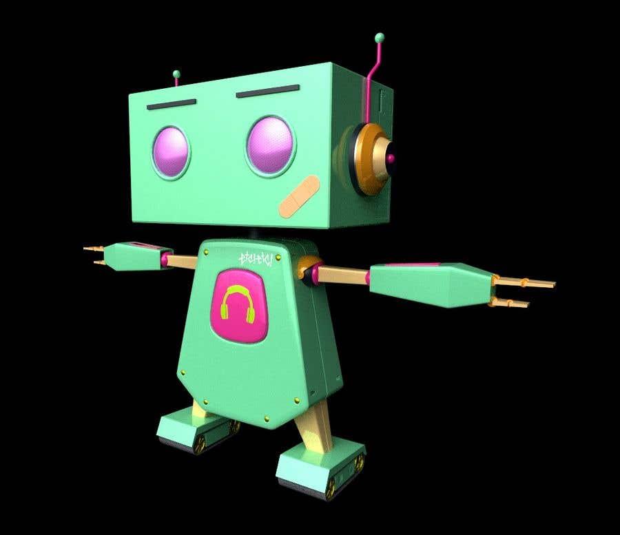 Kilpailutyö #94 kilpailussa 3D Robot Design / Logo
