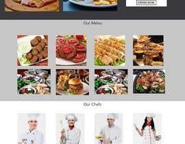 susarmin45 tarafından Restaurant website için no 40