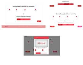 #12 cho Create a survey landing page design for a Facebook campaign (dating) bởi jorgeMachados2